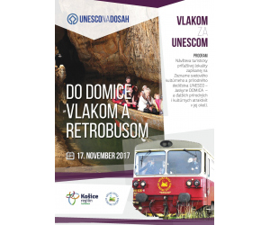 Vlakom a retrobusom do Domice